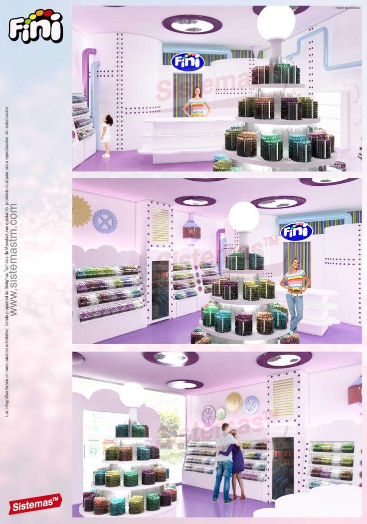 Tienda de golosinas. Candy shop