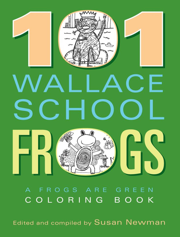 101 students from the Wallace Elementary School in Hoboken, New Jersey created black and white drawings depicting frogs in their natural habitats and other fantastic imaginary places. Frogs Are Green curated the drawings for this coloring book.  https://smile.amazon.com/101-Wallace-School-Frogs-Coloring/dp/0692897887/ref=sr_1_1?ie=UTF8&qid=1497472793&sr=8-1&keywords=101+wallace+school+frogs  #frogs #amphibians #drawings #kidsdrawings #blackandwhite #frogart #frogsaregreencontest…