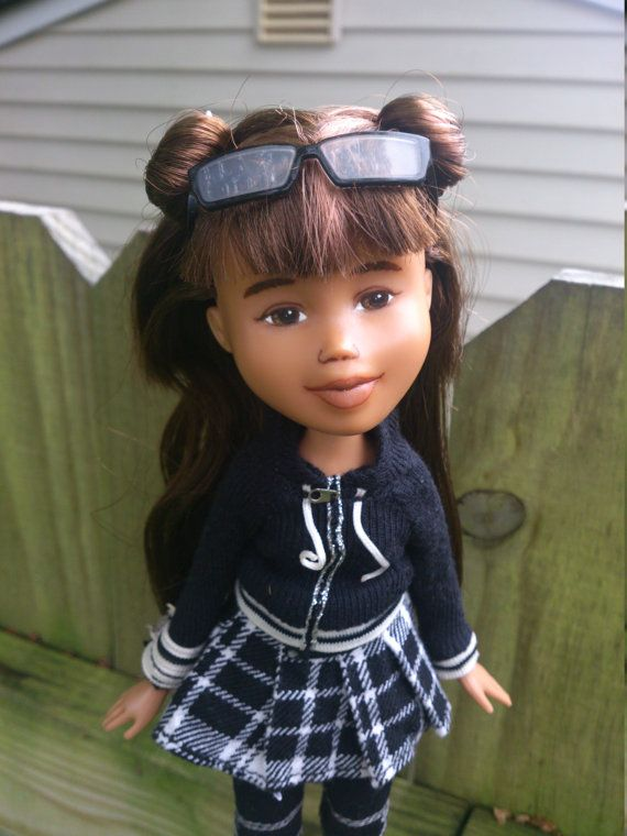 The Black and White Doll Drollerie Dolls makeunder by Mirthitude