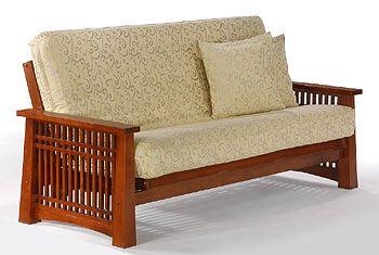 Aspen Full Size Java Futon Set by J Furniture (J Furniture)