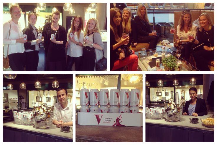 Vi har jobbat med Vikbo Cider i några evenemang vår och sommar 2013