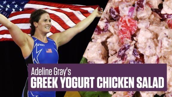 What+athletes+eat:+Adeline+Gray's+Greek+yogurt+chicken+salad