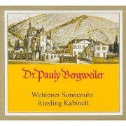 Love the doctor....Dr. Pauly-Bergweiler Wehlener Sonnenuhr Kabinett