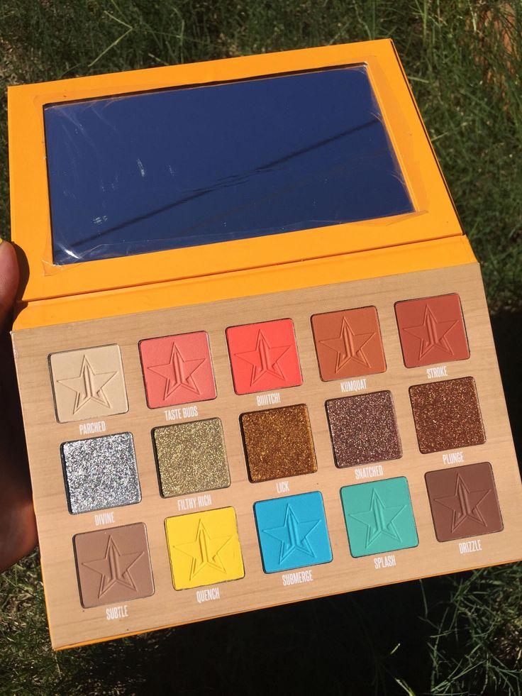Jeffree Star cosmetics summer 2018 thirsty palette makeup