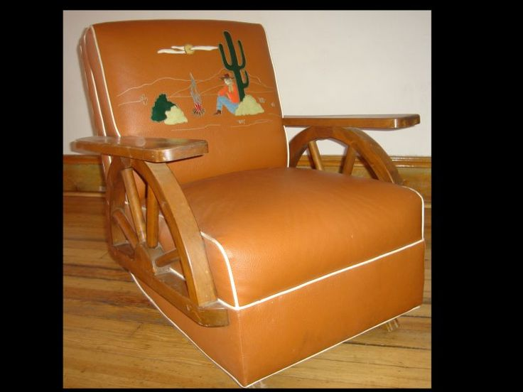 We had a chair and couch like this as kids. Only difference ours had horses!  :).