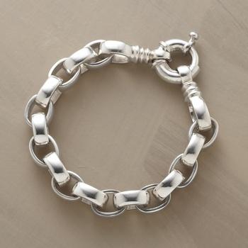 Handmade Silver Link Bracelet in Fall 2012 from Sundance