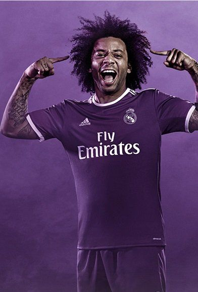 The new Real Madrid kit for season 2016-17