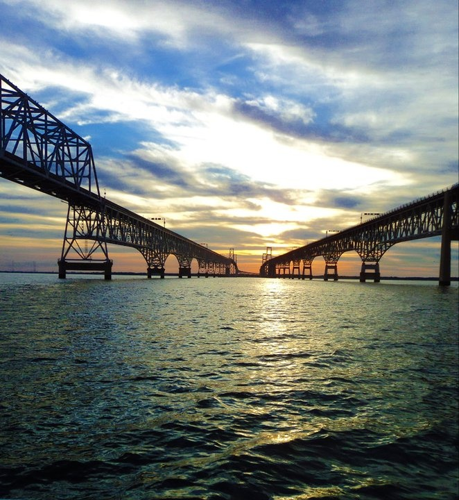 Chesapeake Bay Bridge, Kent Island, Maryland