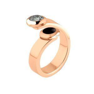 Melano ring violet voor de vivid settingen, ook in zilver en geel goud