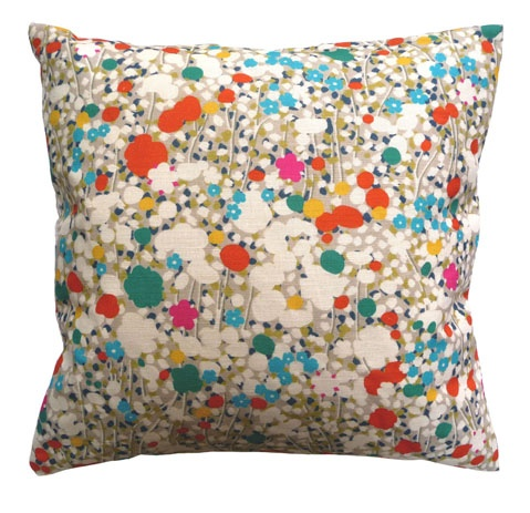 Imogen Heath - Meadow Day Cushion: Galleries, Heath Surface, Heath Patterns, Design Meadow, Cushions 45Cm, Products, Pillows Talk Ideas, Imogen Heath