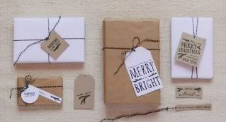 Gift wrapping ideas: printable gift tags