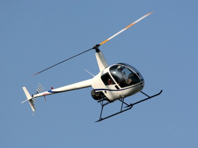Get a private pilot's license (helicopter).