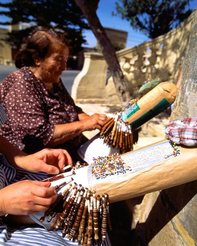 gozo lace making. miss seeing my friends grandmother do this in the summer