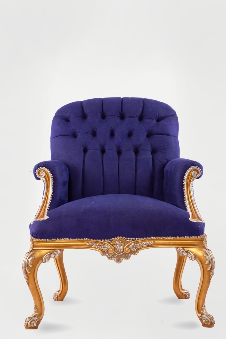 Marquis in #blue #velvet with #gold and #silver leaf.