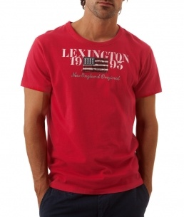 Lexington Tee Crimson Red  595:-  http://www.butikgenuin.se/varumarken/lexington/herr-lexington-klder/lexington-tee-crimson-red
