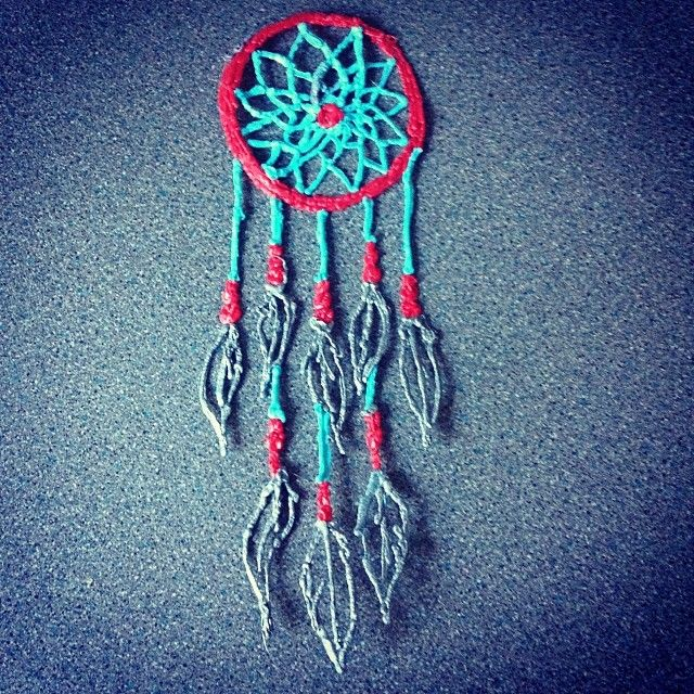 i ordered a 3Doodler on wednesday and i'm looking forward to using it! i've been on the website looking at what other people have created, and this Doodled Dreamcatcher is a must make! :) (And for those who don't know, a 3Doodler is basically a pen that you put strips of plastic in that cools quickly, so you could create 3D objects! want to draw a 3D cube somehow? With a 3Doodler, you could simply get a pice of paper and you'd be able to draw off the page! #whatwillyoucreat?)