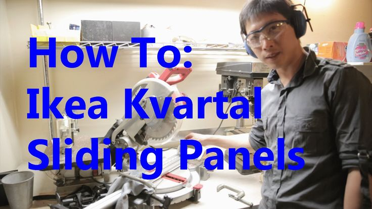 The Kvartal Sliding Panel Blinds System looks insane to put together. Hopefully this video will guide you a bit so it will not look so daunting to actually t...