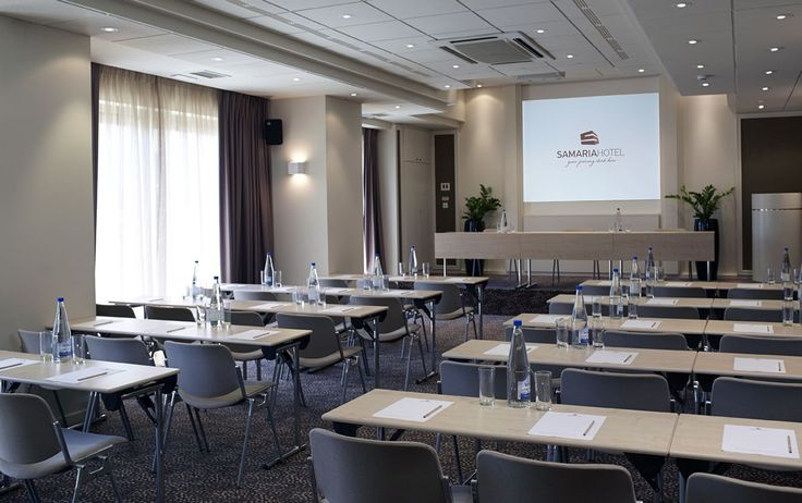 #SamariaHotel is the ideal place to host your #conference! #Chania #Crete