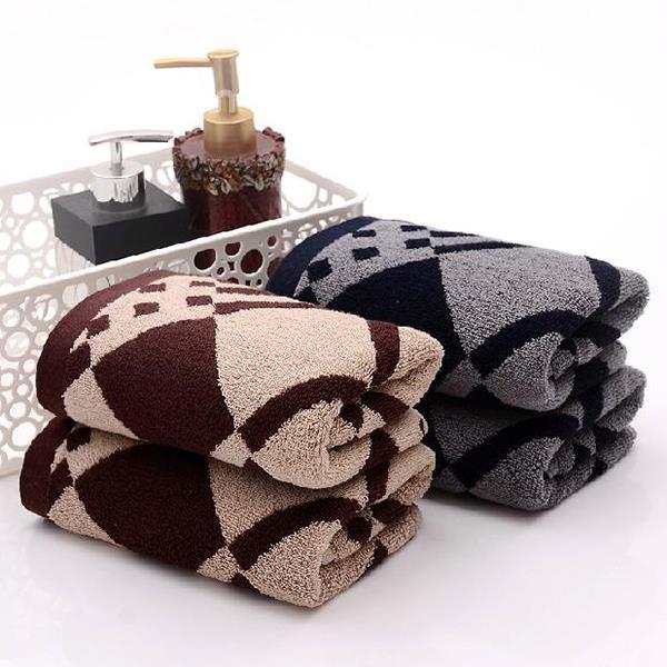 Super Comfy Classical Plaid Full Cotton Towel on sale, Buy Retail Price Face & Hand Towel at Beddinginn.com