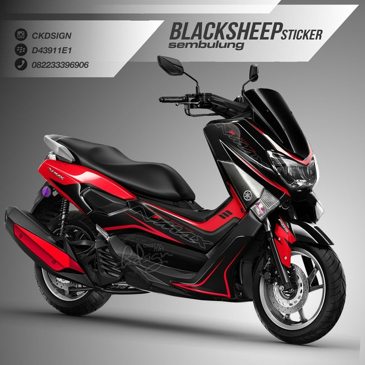 Yamaha nmax minimalis cutting sticker