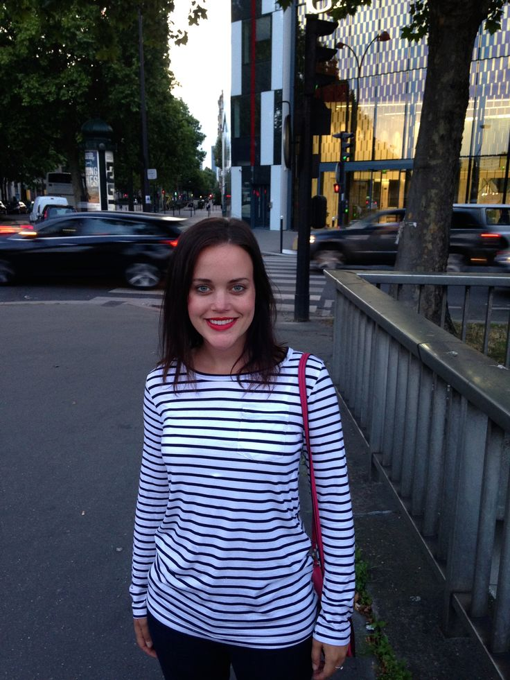 What I Wore in Paris: @popbasic Le Breton + Chanel red lips #popbasic