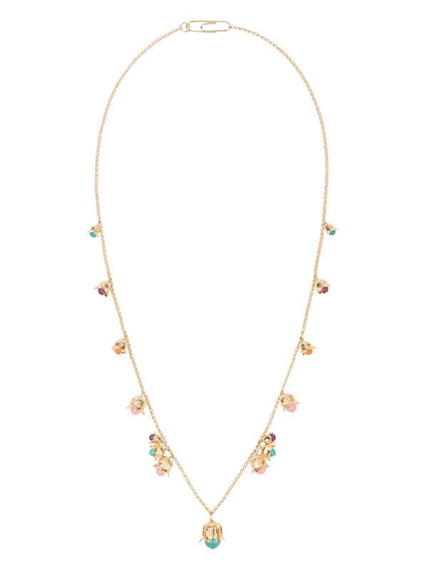LILY OF THE VALLEY LONG NECKLACE