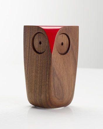 Owl  Walnut  Red