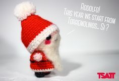 A free and easy to do Christmas Amigurumi Santa Claus pattern. He can be used as a Christmas ornament or just to spread some joy in the room.