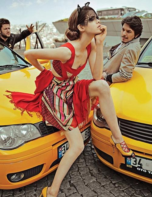 Julia Saner by Ahmet Polat for Vogue Türkiye