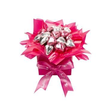 Box of Heartz, AU $27.50 from Lollypotz.com.au #Lollypotz #chocolatebouquet #chocolategift #flowersandgifts
