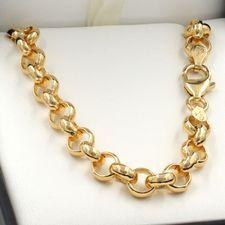 9ct Gold Belcher Chains