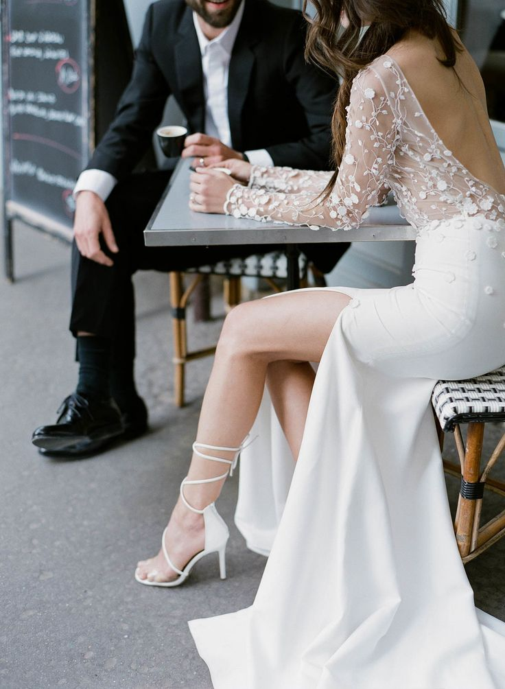 A Romantic Elopement with the Best Ever View of the Eiffel Tower