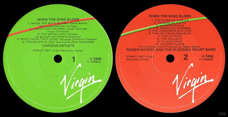 Apologise, but Virgin record labels necessary