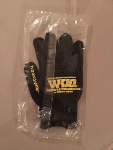 Wrestling 2902: Wrestle Kingdom 10 2016 Gloves New Japan Pro Wrestling Kenny Omega Bullet Club -> BUY IT NOW ONLY: $30 on eBay!