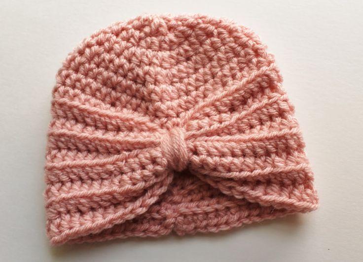 kozy & co: Crochet Baby Turban Pattern                                                                                                                                                                                 More
