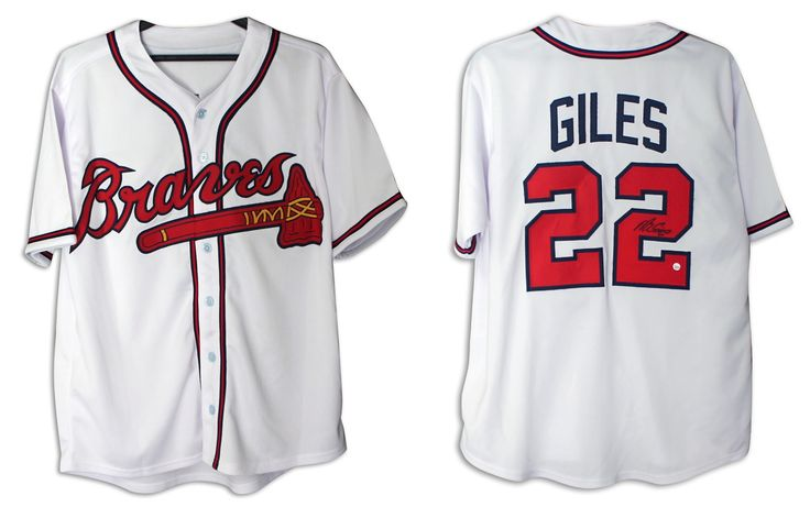 Marcus Giles Atlanta Braves Autographed White Jersey with COA