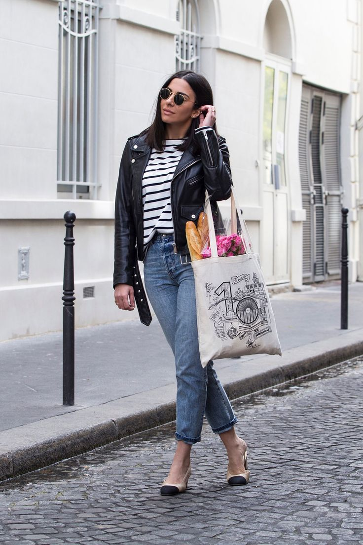 Channeling My Inner Parisian With Breton Stripe Top