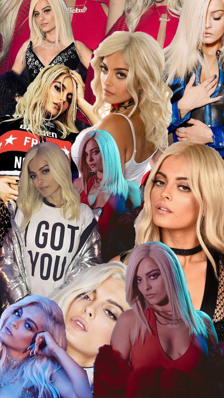 Made This Bebe Rexha Collage For My Iphone Wallpaper Bebe Rexha Bebe Bebe Rexa
