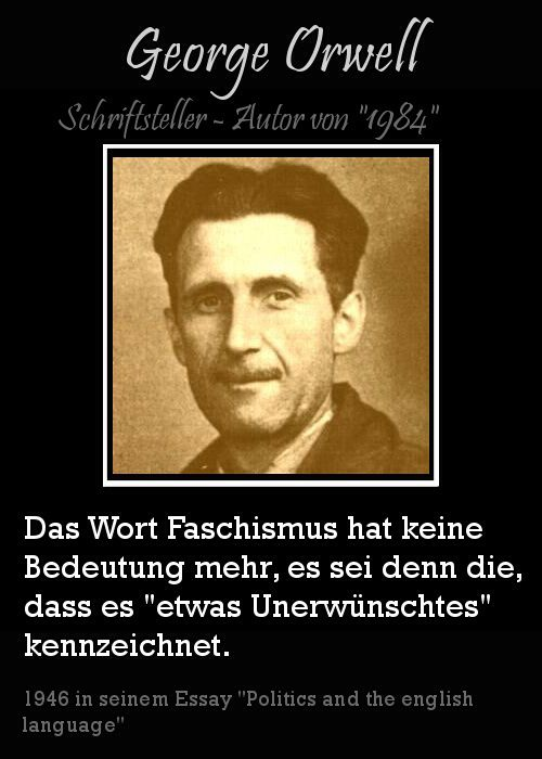 george orwell politics and the english language full essay Politics and the english language (1946), by george orwell, is an essay criticizing ugly and inaccurate contemporary written english he asserted contemporary english prose causes and affects foolish thoughts and dishonest politics.