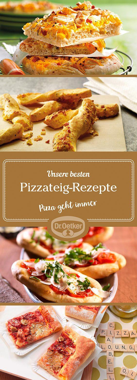 Lassen Sie sich von der großen Auswahl an Pizza-Rezepten, die von der Dr. Oetker Versuchsküche entwickelt wurden, inspirieren.