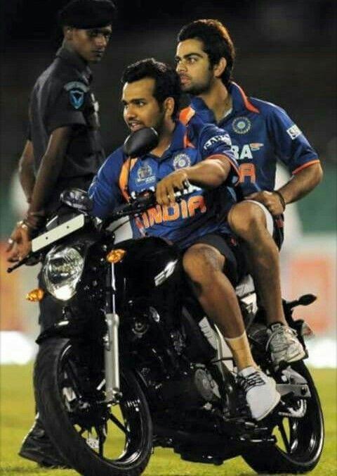 Sharma and Kohli