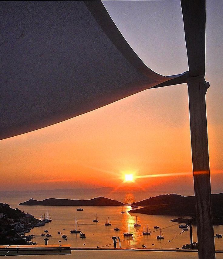Tzia-Kea island (Τζιά-Κέα)! Stunning sunset view ...