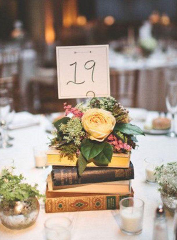 Antique book centerpieces Affordable Wedding Centerpiece #centerpieces #weddingcenterpiece #simplecenterpiece
