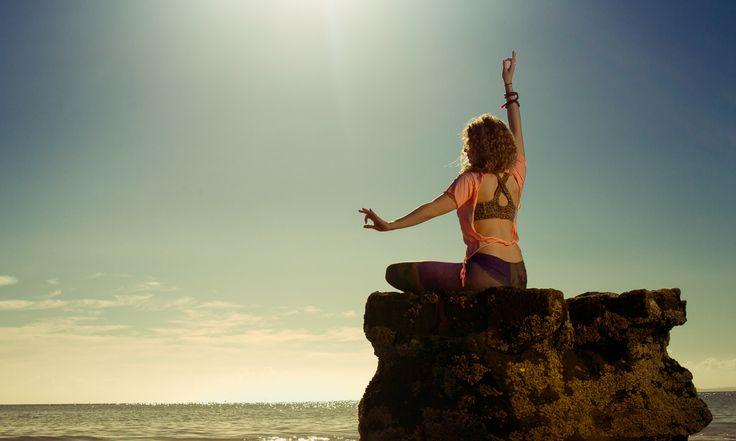 Rock goddess, Teeki Peach Backless Divine Unity Tee and Teeki Space Love hot pants