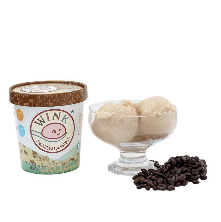 Iced Latte, Low Calorie Ice Cream, Tree Nut Free