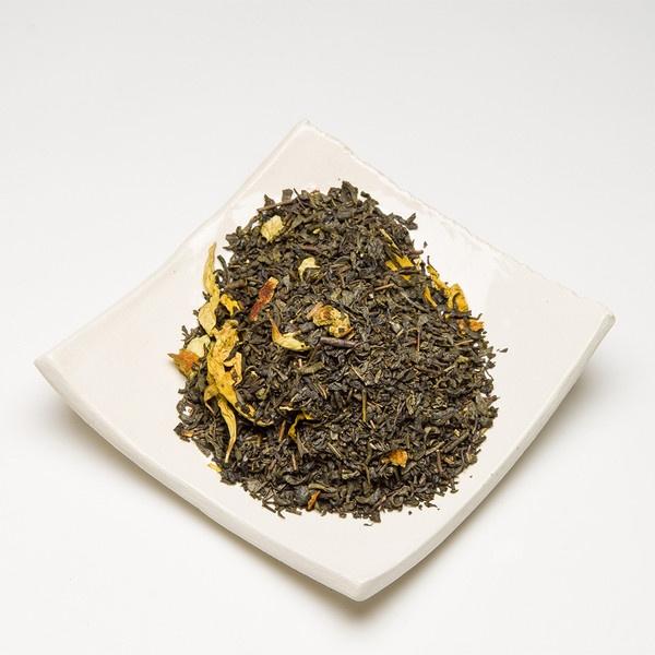 Loose Leaf Sweet Orange Premium Green Tea by Satya Tea - Liquid Wisdom from only $5