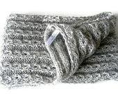 infinity scarves,Hand crocheted scarf cowl,terra-cotta,neckwarmer,women chrochet,Winter spring trend,2013 fashion trend,valentines day. $35.00, via Etsy.