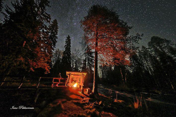 Vekaruksen ulkoilualueella iltaretkellä, Joensuu Finland.Vekaruksen outdoor area to camping, Joensuu FinlandPhoto Ismo Pekkarinen #finland #nature #luonto #vekarus