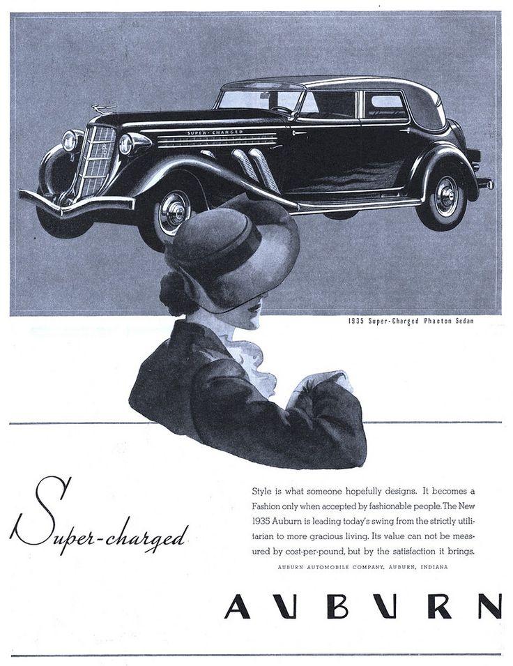 Not Pulp Covers • Auburn Automobile Company - 19350420