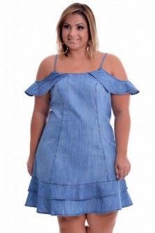 Vestido Plus Size Barrocos